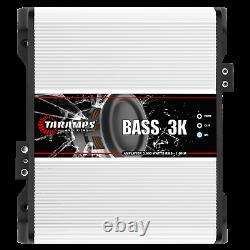Taramps Bass3k 3000 Watts 1 Ohm Amplificateur USA Concessionnaire Same Day Shipping