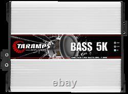 Taramps Bass5k 5000 Watts 1 Ohm Amplificateur USA Dealer Same Day Shipping