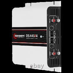 Taramps Ds 440x4 Amplificateur 440w Rms USA Dealer Le Même Jour Livraison