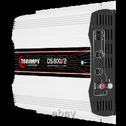 Taramps Ds 800x2 Amplifier 2 Ohms 800w Rms USA Dealer Similaire Jour