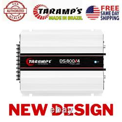 Taramps Ds 800x4 1 Ohm 800 Watts Amplificateur USA Concessionnaire Same Day Shipping