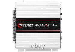 Taramps Ds440x4 2 Ohm Classe D 4 Amp De Channel + Navires Le Meme Jour De L'ohio