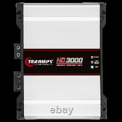 Taramps Hd3000 1 Ohm 3000 Watts Amplificateur -usa Dealer Same Day Shipping