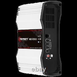Taramps MD 1200.1 Amplificateur 1 Ohm 1200w Rms USA Dealer Le Même Jour Livraison