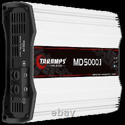 Taramps MD 5000.1 Amplificateur 1 Ohm 5000w Rms USA Dealer Le Même Jour Livraison