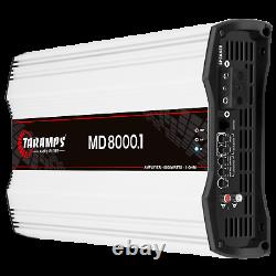Taramps MD 8000.1 Amplificateur 1 Ohm 8000w Rms USA Dealer Same Day Shipping