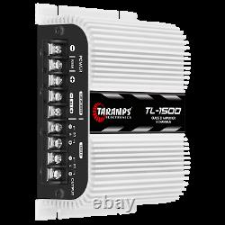 Taramps Tl 1500 Amplificateur 3ch 2-4ohms 390w Rms USA Dealer Same Day Shipping