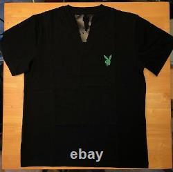 Vlone X Playboi Carti Green T-shirt Taille S-xl Expédie Le Même Jour