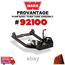 Warn 92100 Provantage Front Mount Charrue Base / Push Tube Same Day Shipping