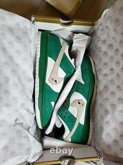 Warren Lotas Dunk Jason Toxic Green Heineken Taille 9 En Même Jour